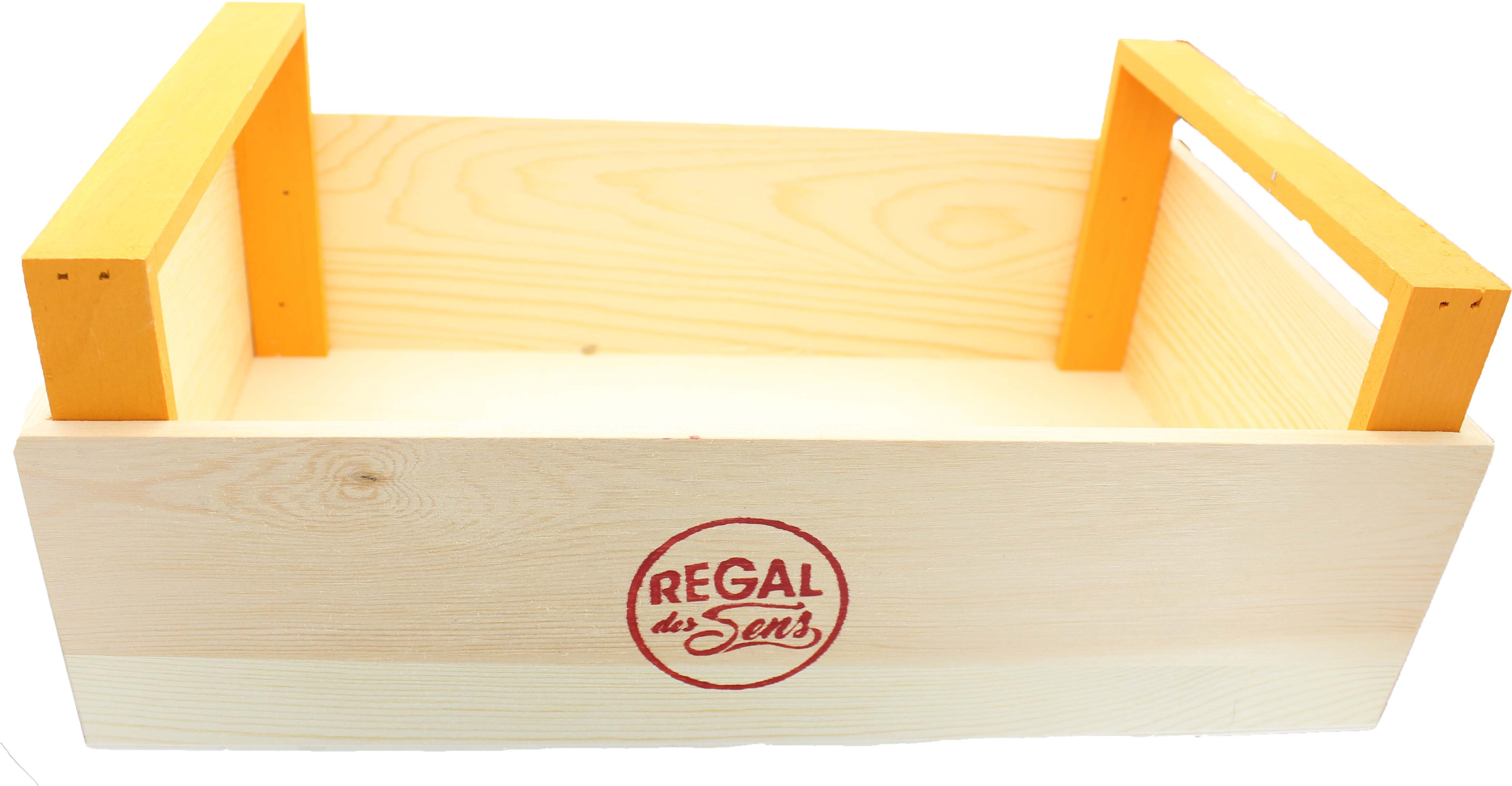 Cagette en bois naturel - Regal des Sens