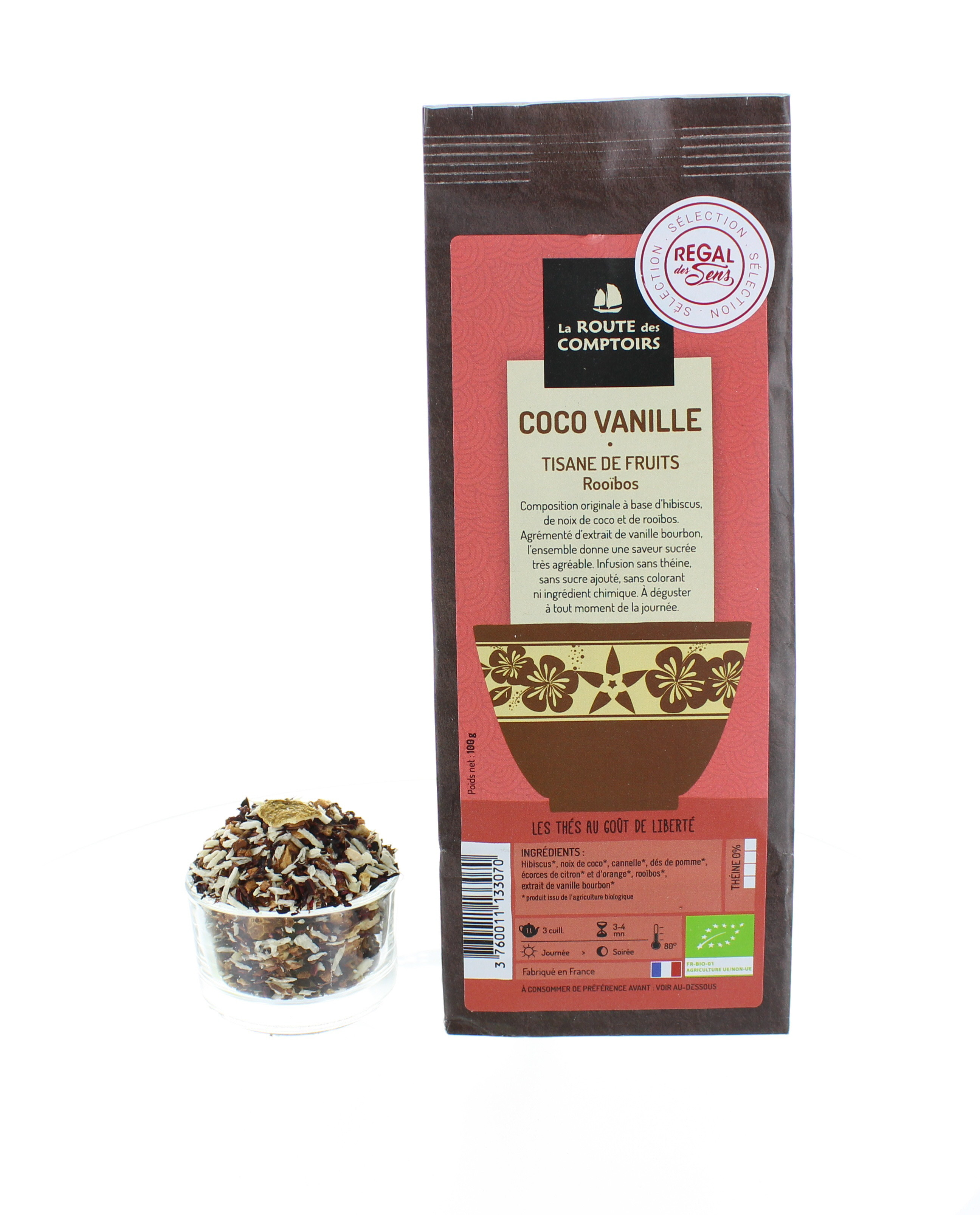 Tisane coco vanille - Bio