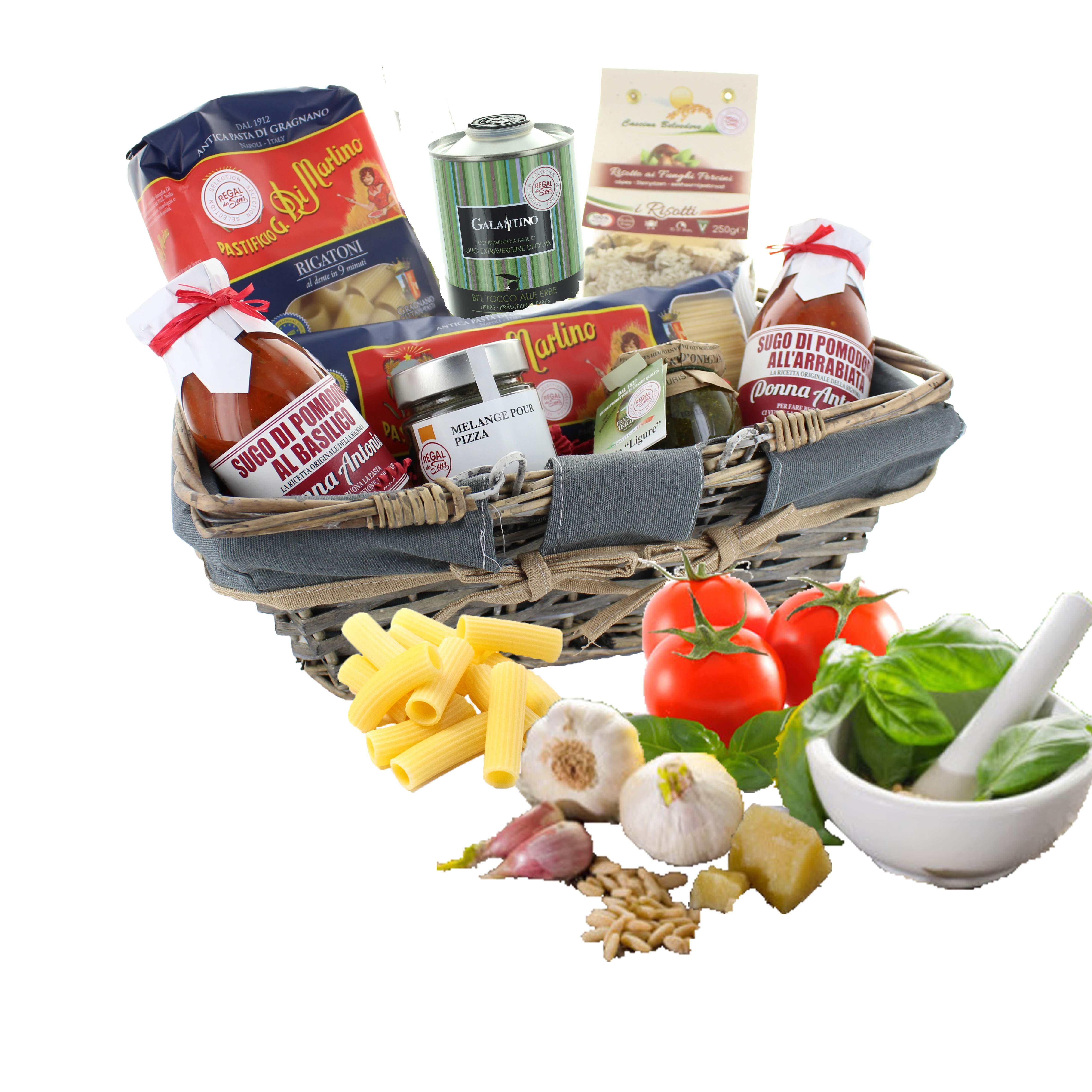 """Coffret cadeau gourmand """"delizie italiane"""" - Regal des Sens"""