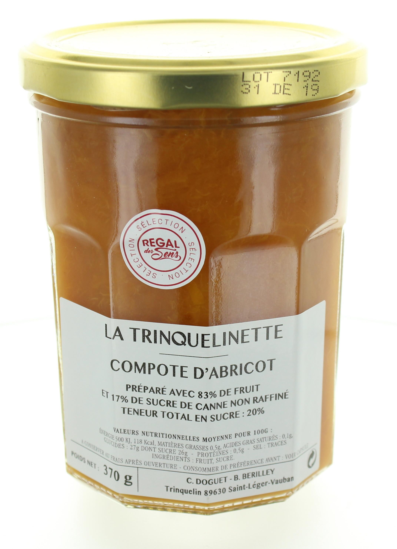 Compote d'Abricot - La trinquelinette