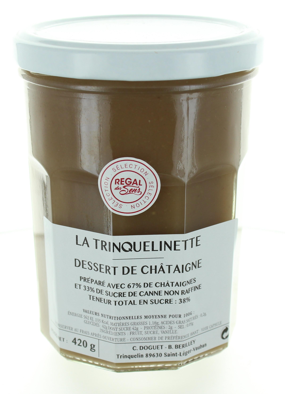 Dessert à la Châtaigne - La trinquelinette