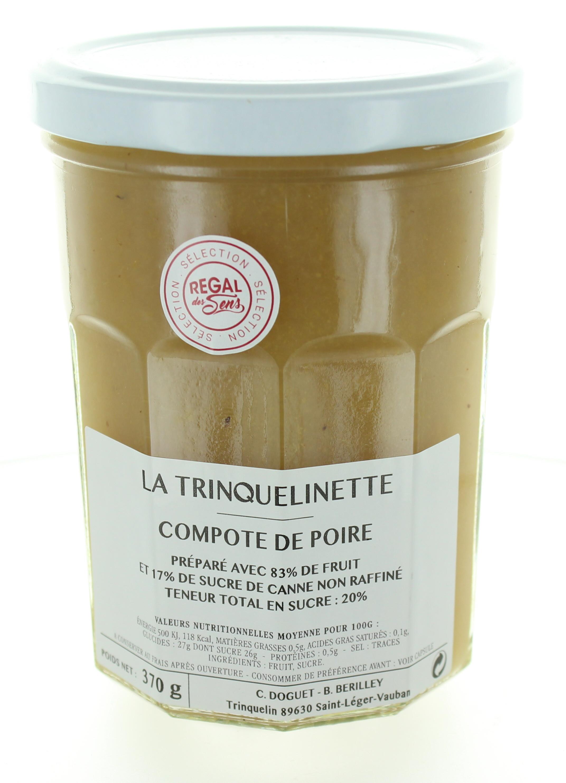 Compote de Poire - La trinquelinette