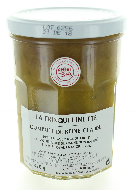 Compote de Reine-Claude - La trinquelinette