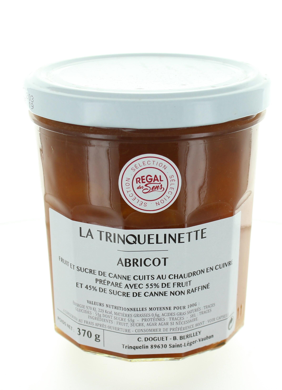 Confiture d'Abricot - La trinquelinette