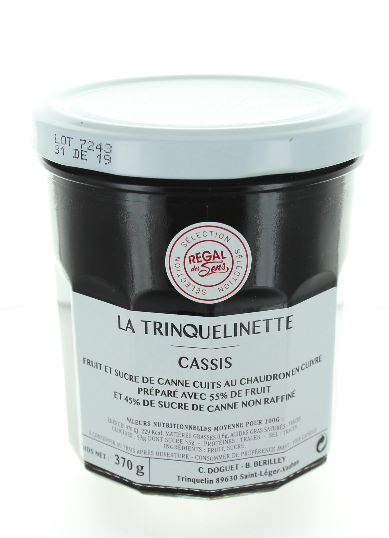 Confiture de Cassis - La trinquelinette