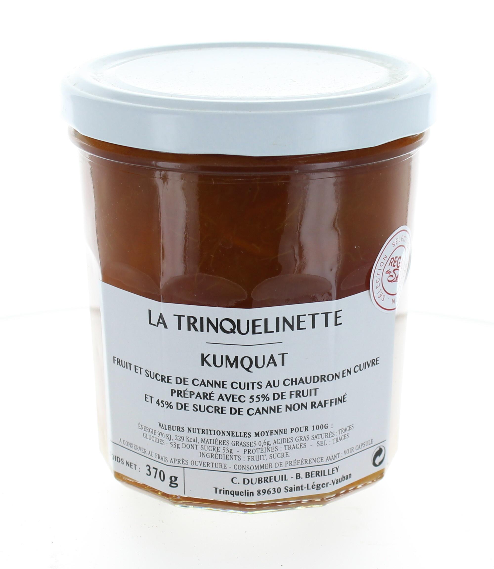 Confiture de Kumquat - La trinquelinette
