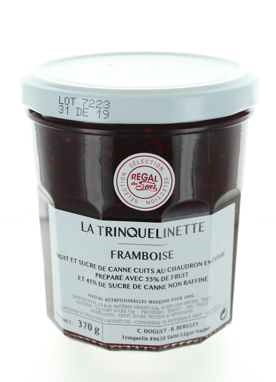 Confiture de Framboise - La trinquelinette
