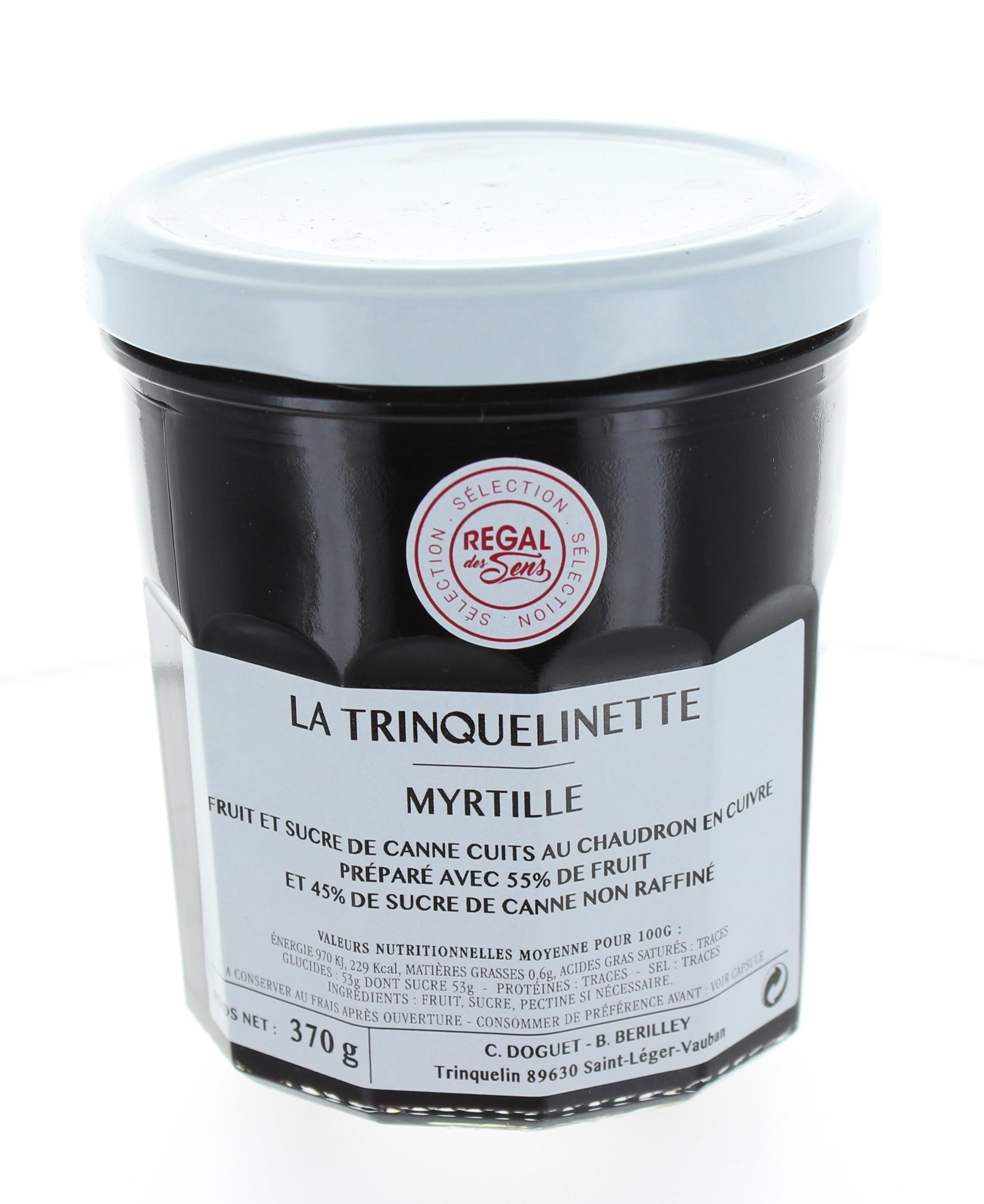 Confiture de Myrtille - La trinquelinette