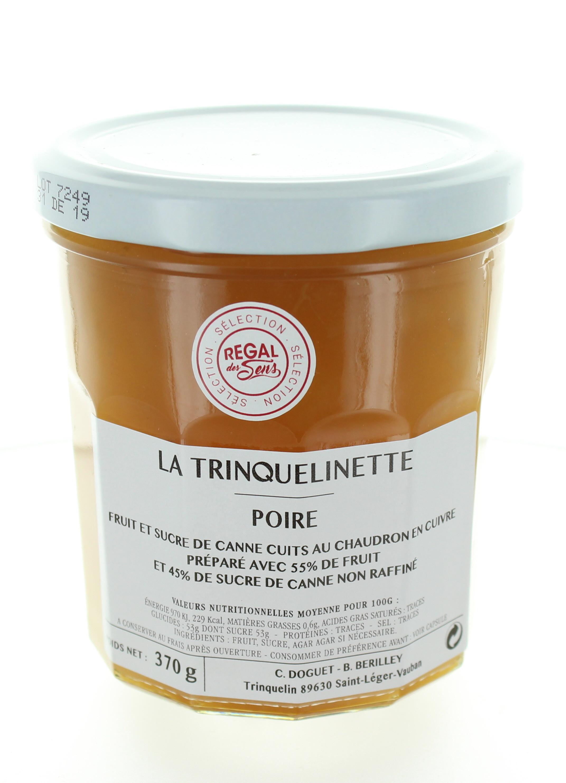 Confiture de Poire - La trinquelinette