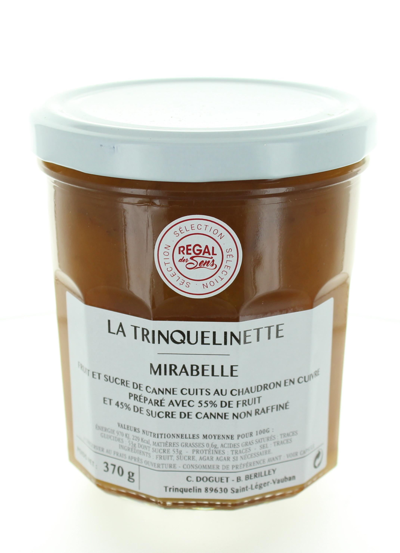 Confiture de Mirabelle - La trinquelinette