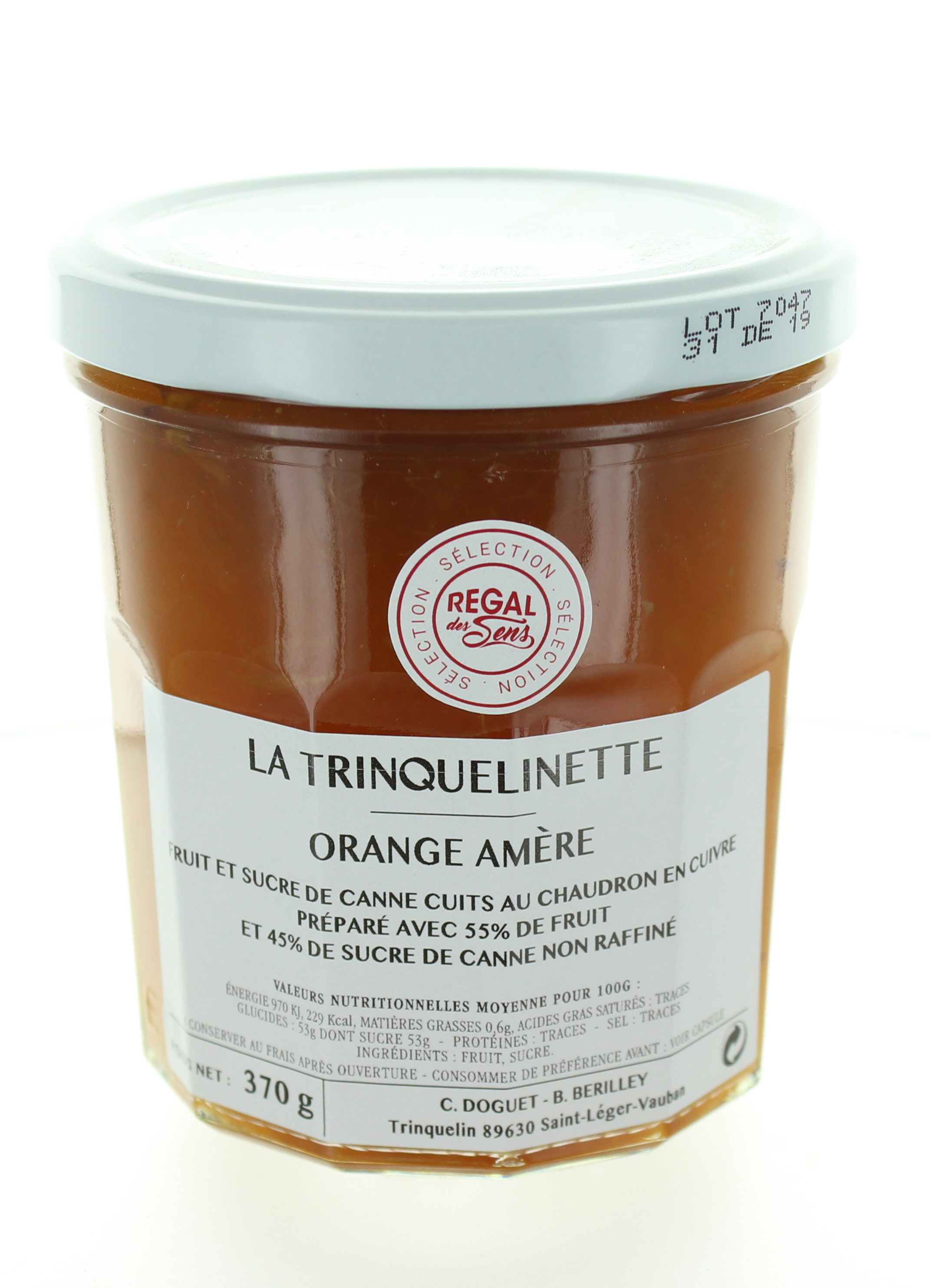 Confiture d'Orange amère - La trinquelinette