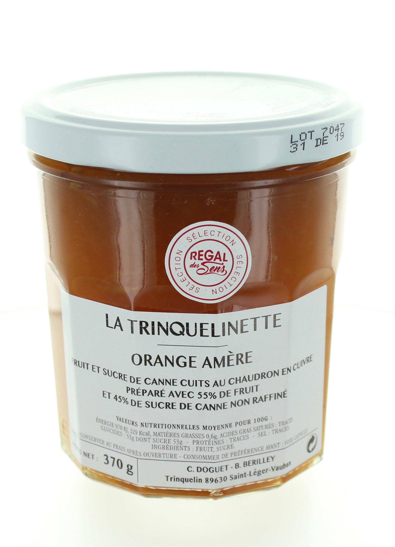 Confiture d'Orange amère - La trinquelinette