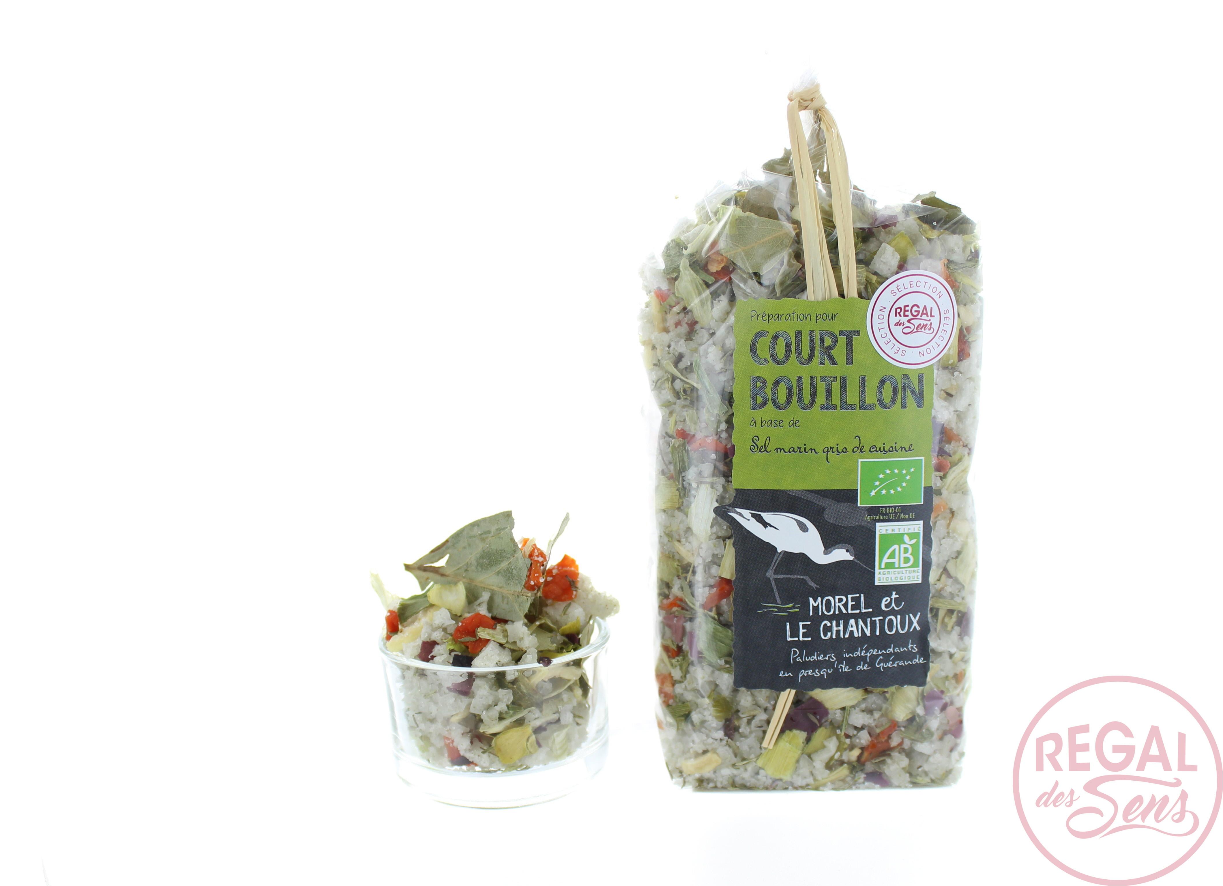 Court-bouillon au sel de Guérande Bio