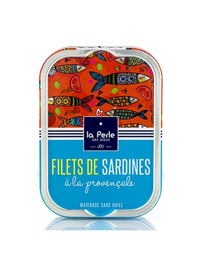 Filets de sardines sans huile à la provençale