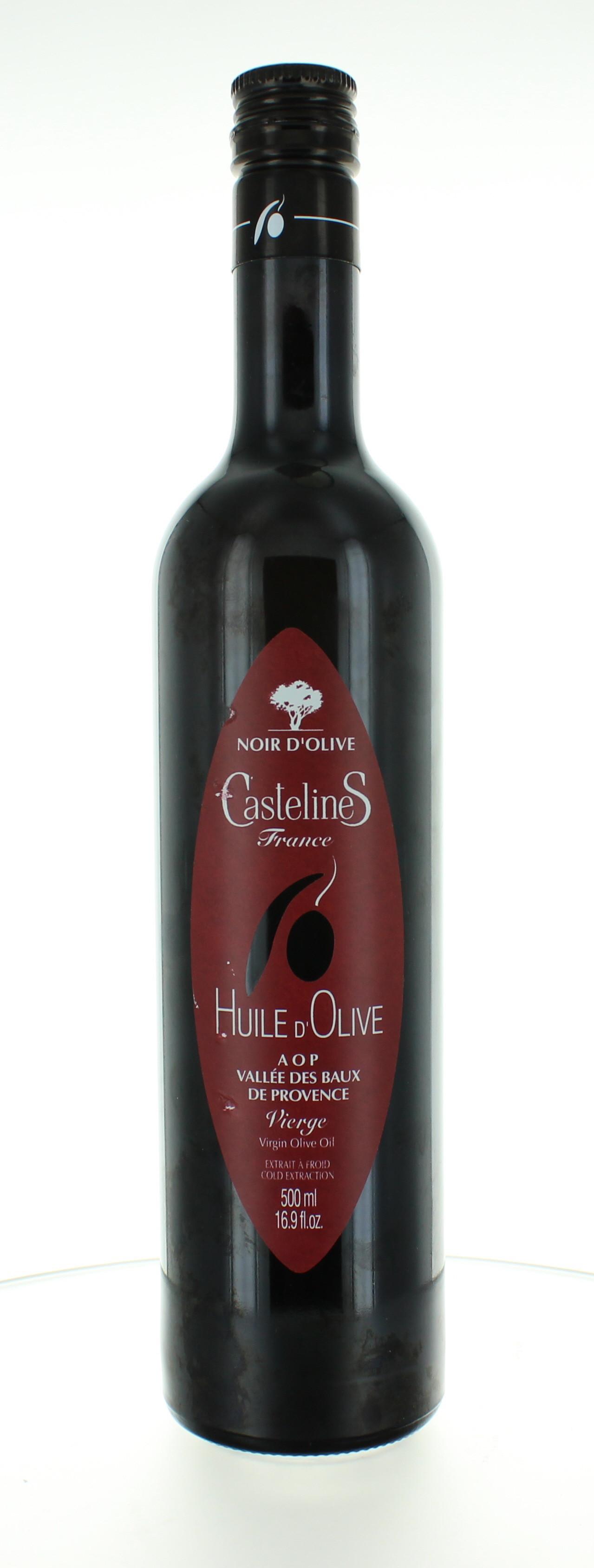 Huile d'olive des Baux de Provence - Fruité noir - Regal des Sens