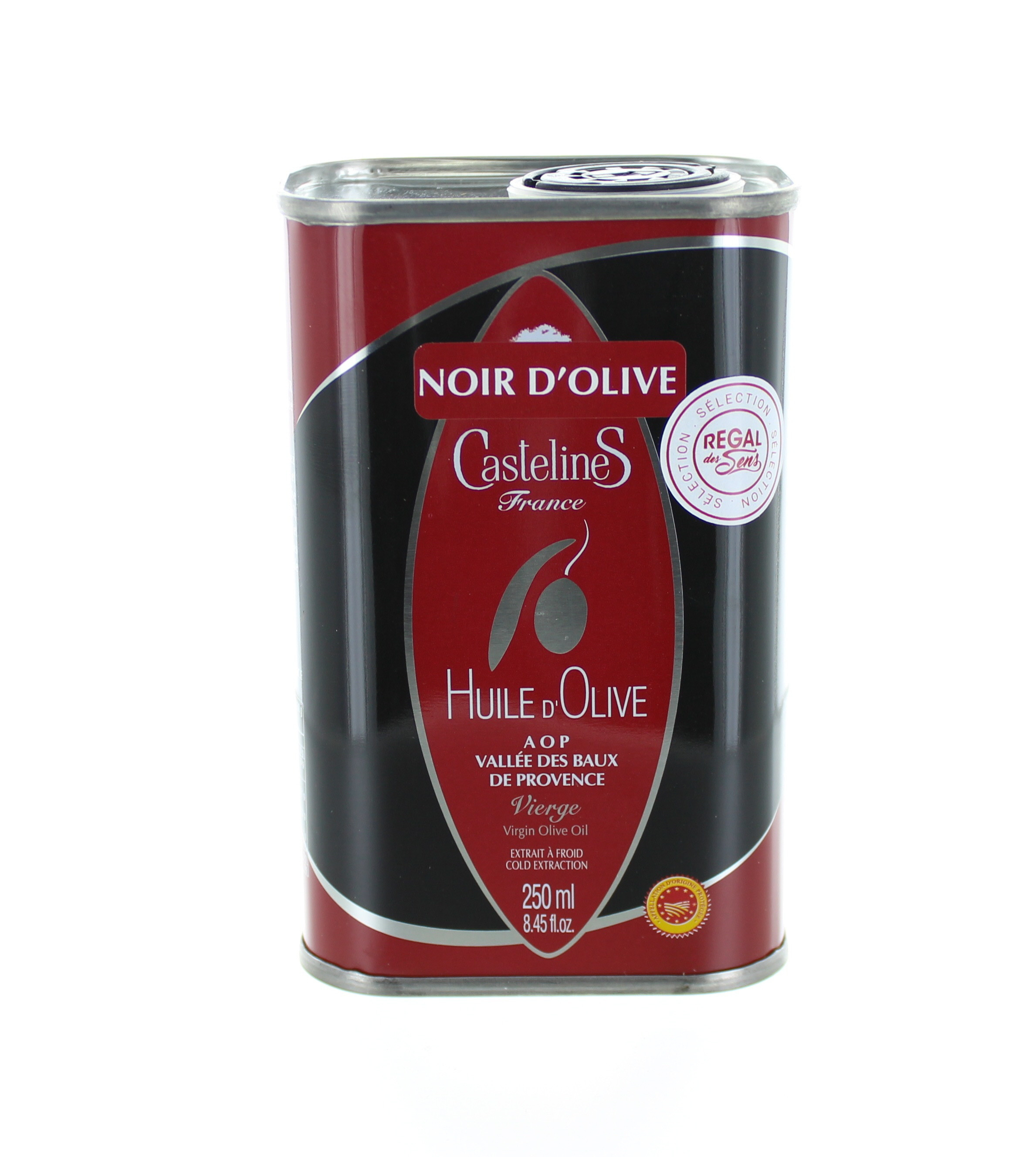 Huile d'olive des Baux de Provence - Fruité noir