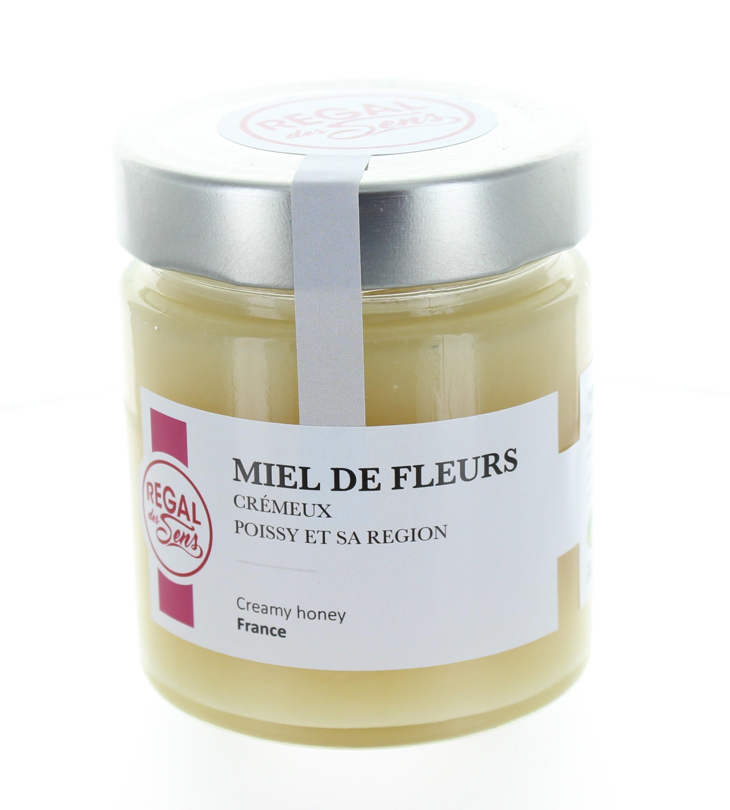 Miel de fleurs crémeux - Regal des Sens