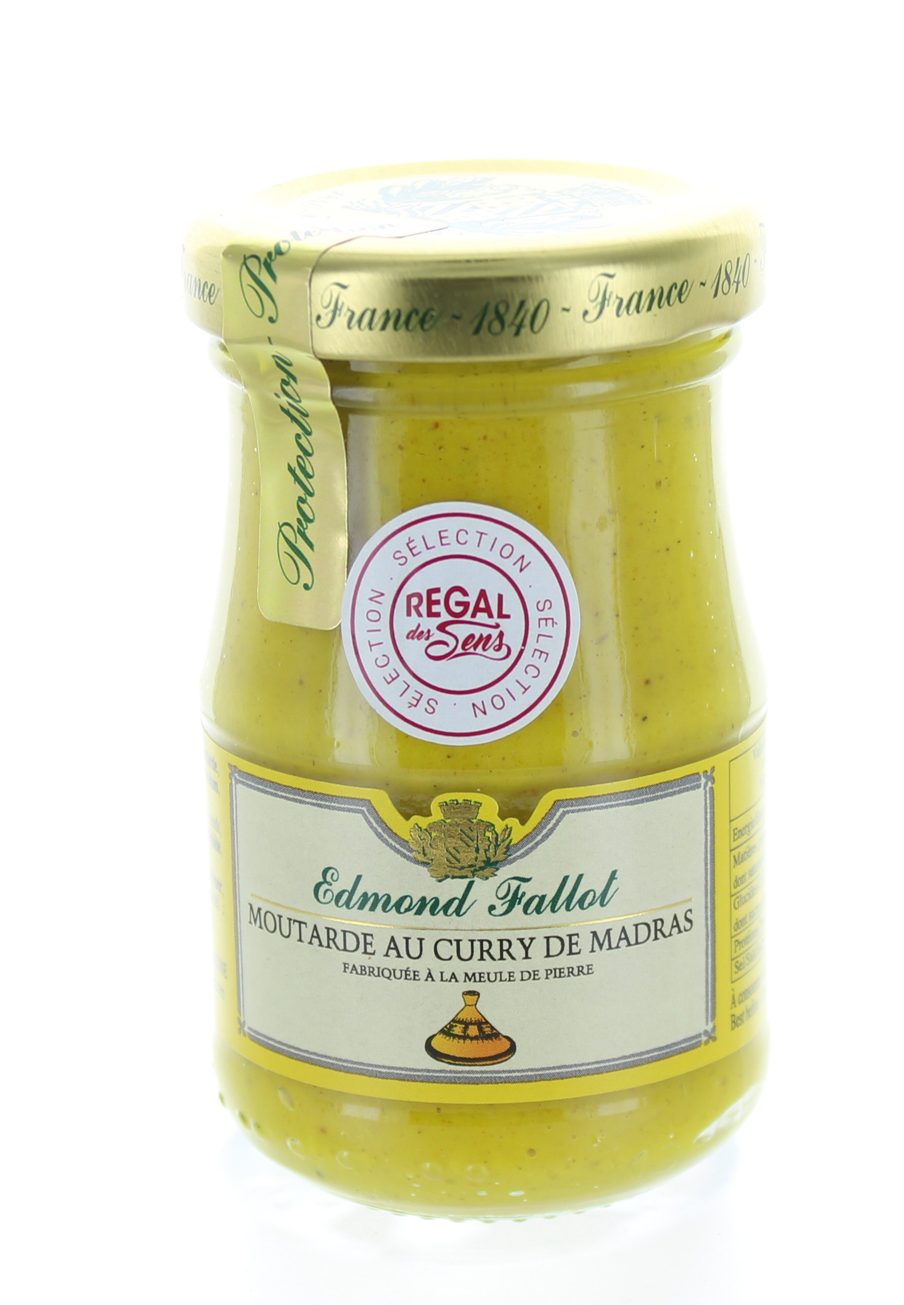 Moutarde au curry madras