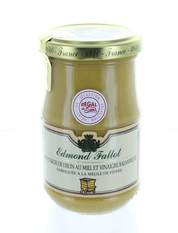 Moutarde au miel et vinaigre balsamique de Modène - Regal des Sens
