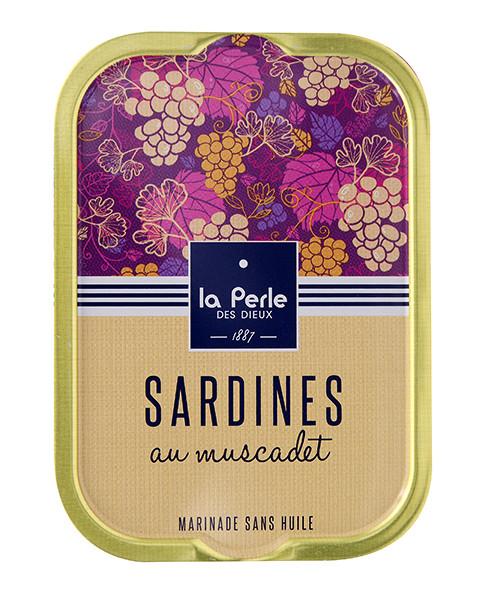Sardines marinées au muscadet - La perle des dieux