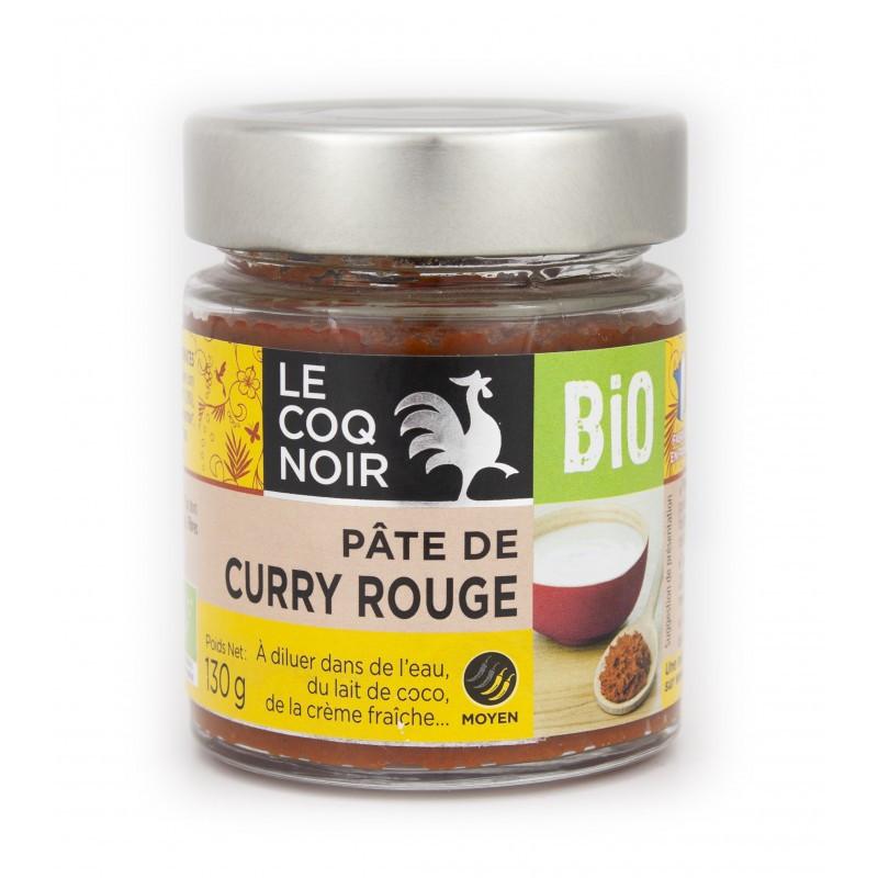 Pâte de curry rouge - bio