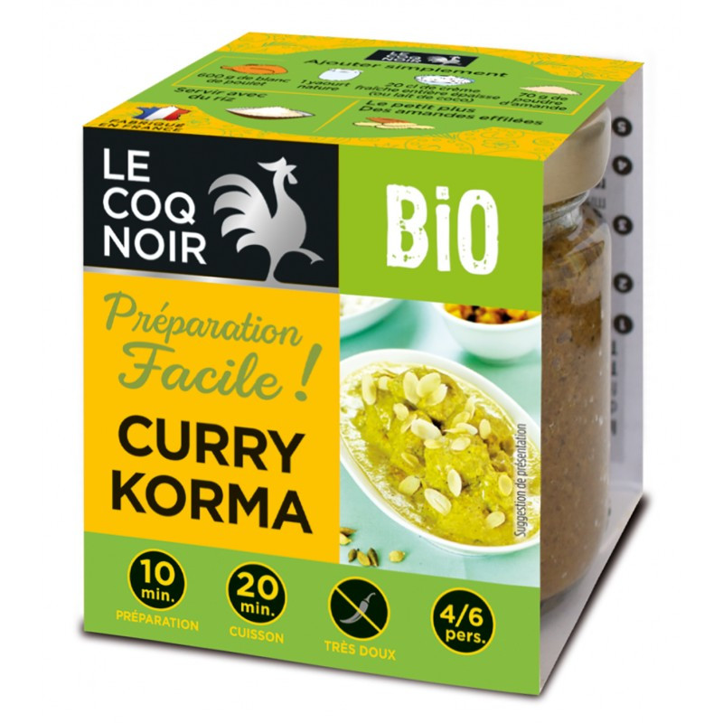 Préparation Curry Korma - Bio