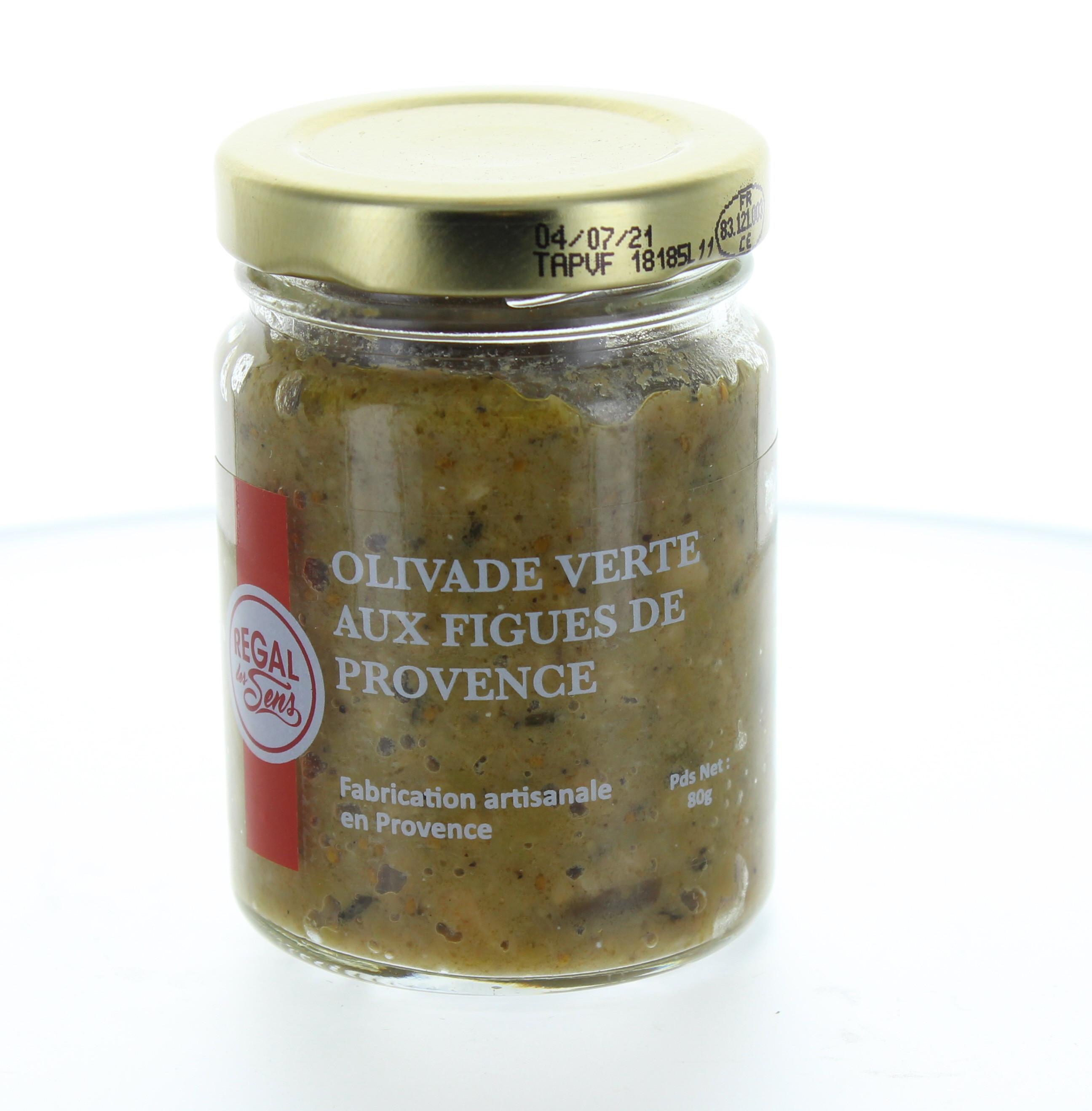 Olivade verte aux figues de Provence- Regal des Sens