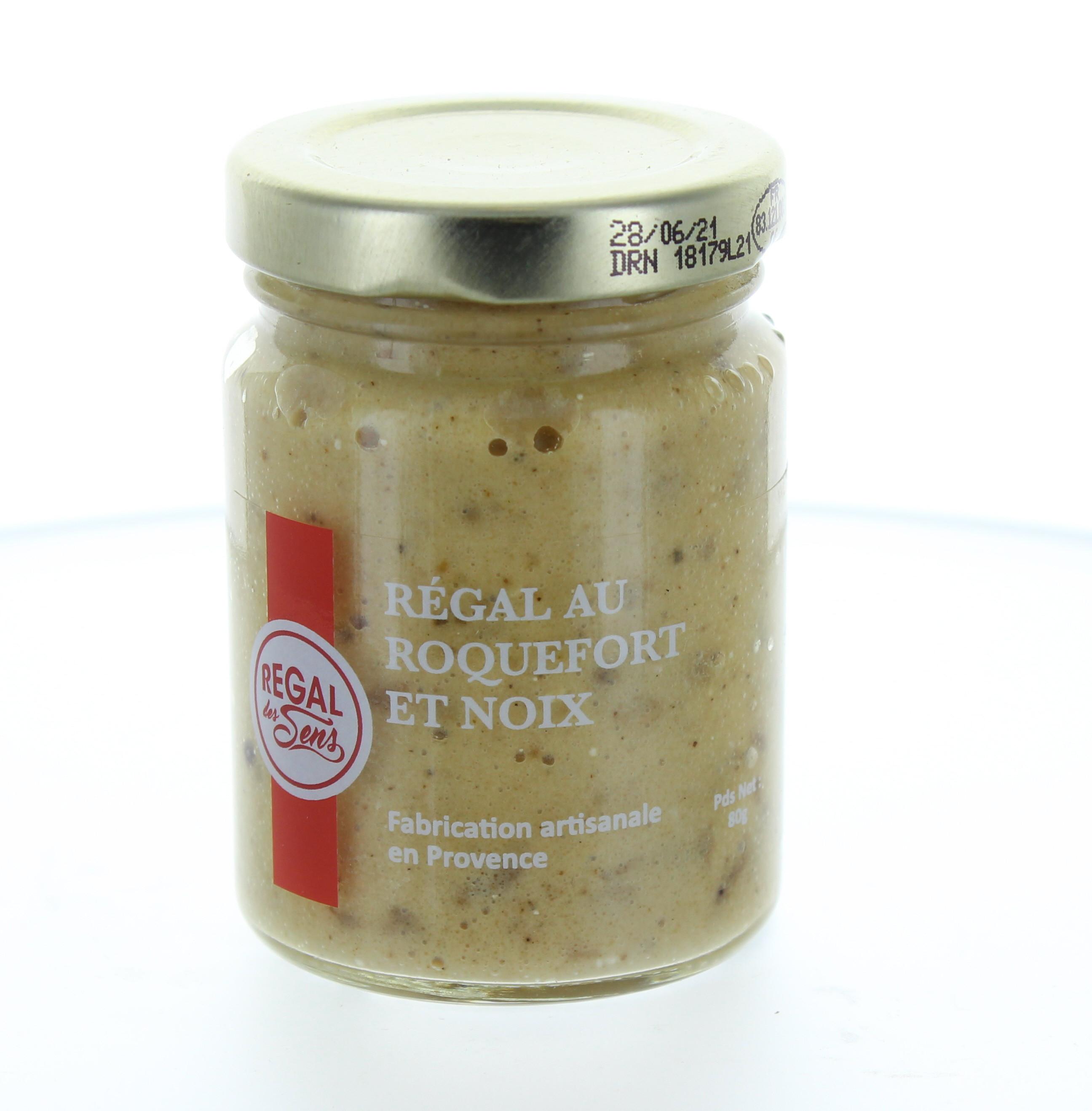 Régal de Roquefort et noix - Regal des Sens