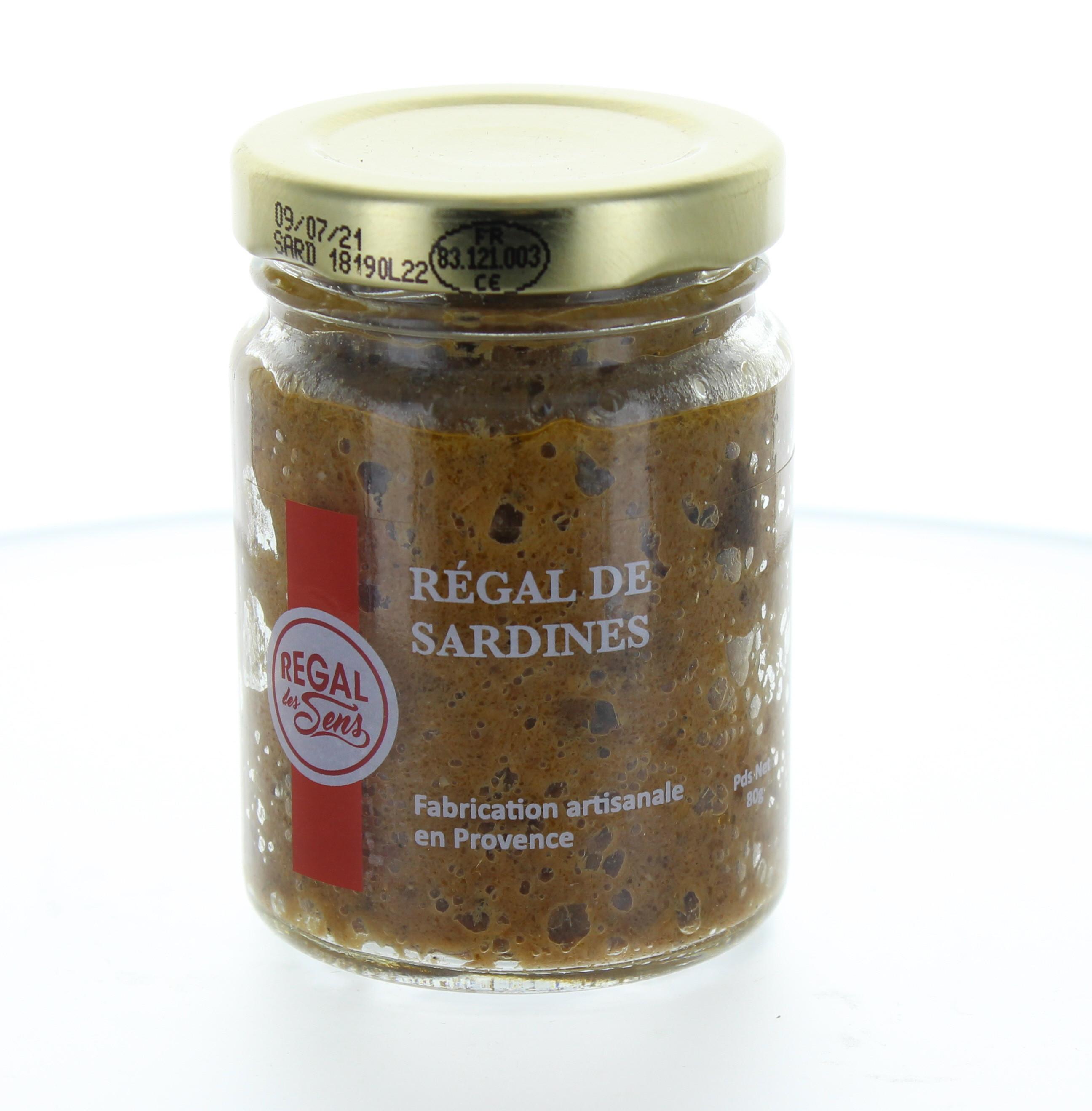 Régal de Sardines - Regal des Sens