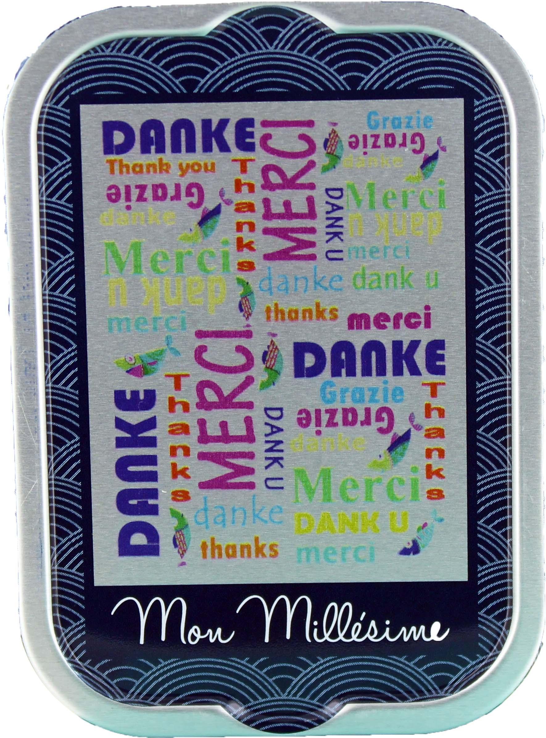 """Sardines Millésimées """"Merci"""" - La perle des dieux"""