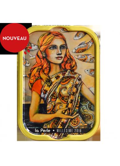 """Sardines Millésimées 2018 Delphine Cossais """"Mlle Perle en Inde"""""""