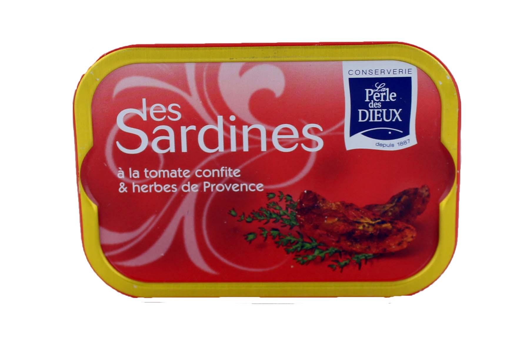 Sardines tomate confite - La perle des dieux