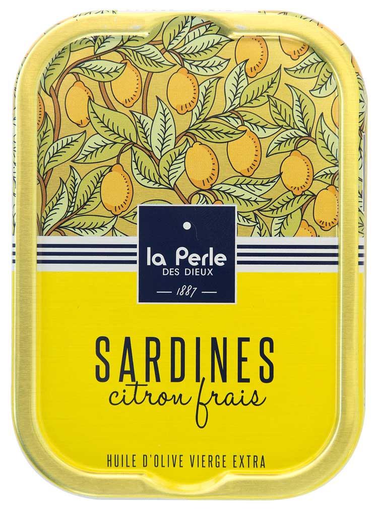 Sardines au citron frais - La  perle des dieux
