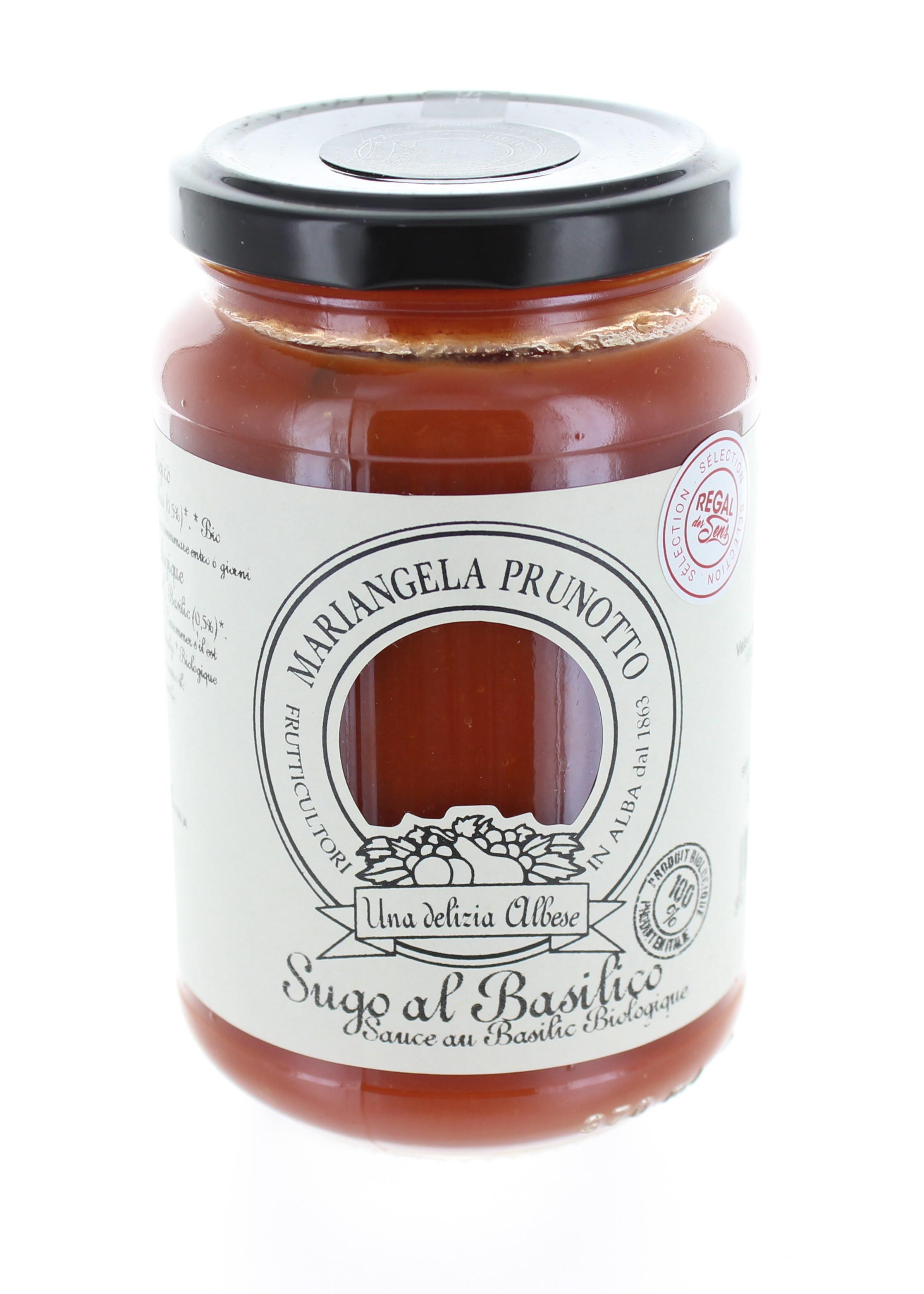 Sauce Tomate au Basilic Bio - Regal des Sens