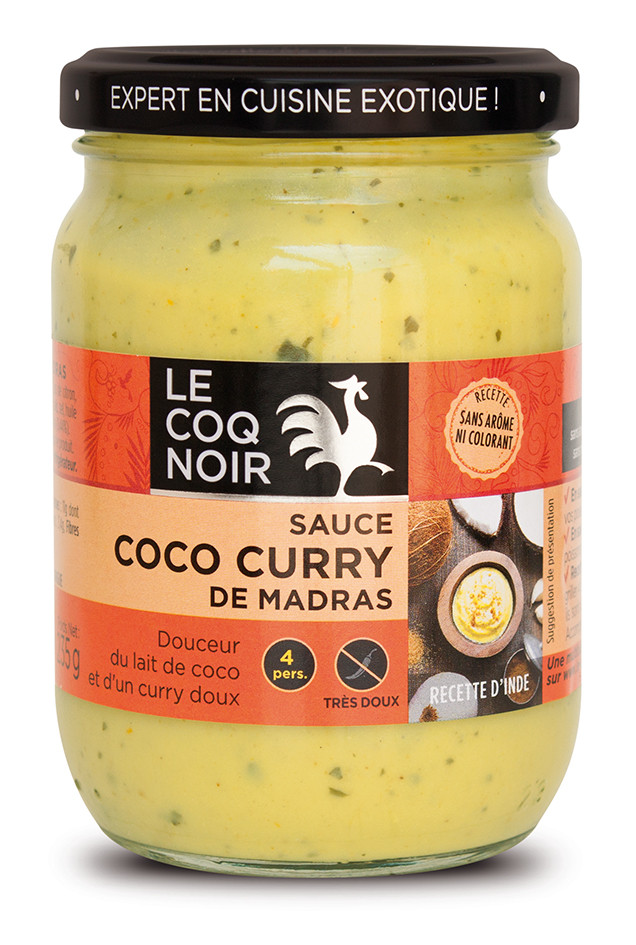 Sauce Coco - Curry Madras