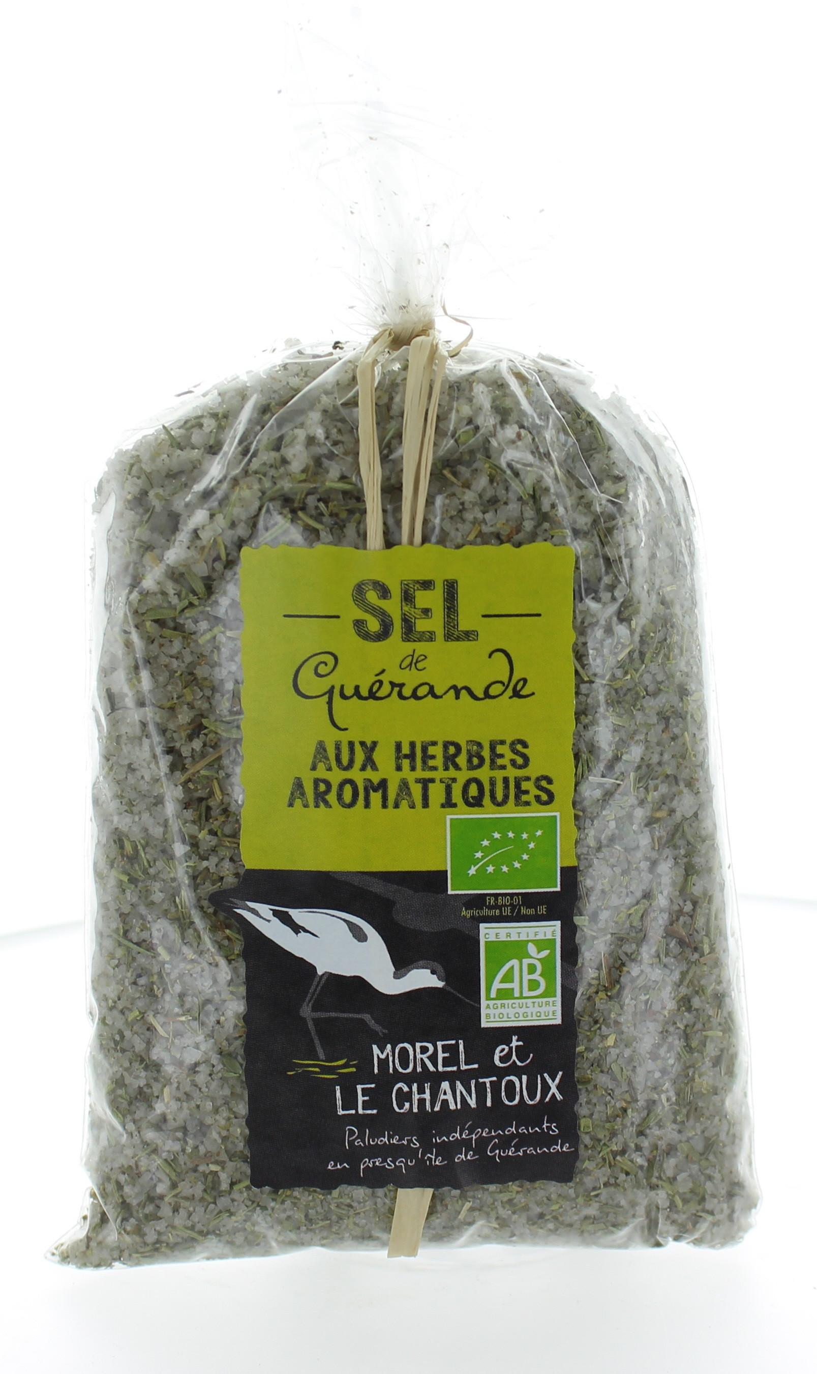 Sel de Guérande aux herbes aromatiques - Bio- Regal des Sens