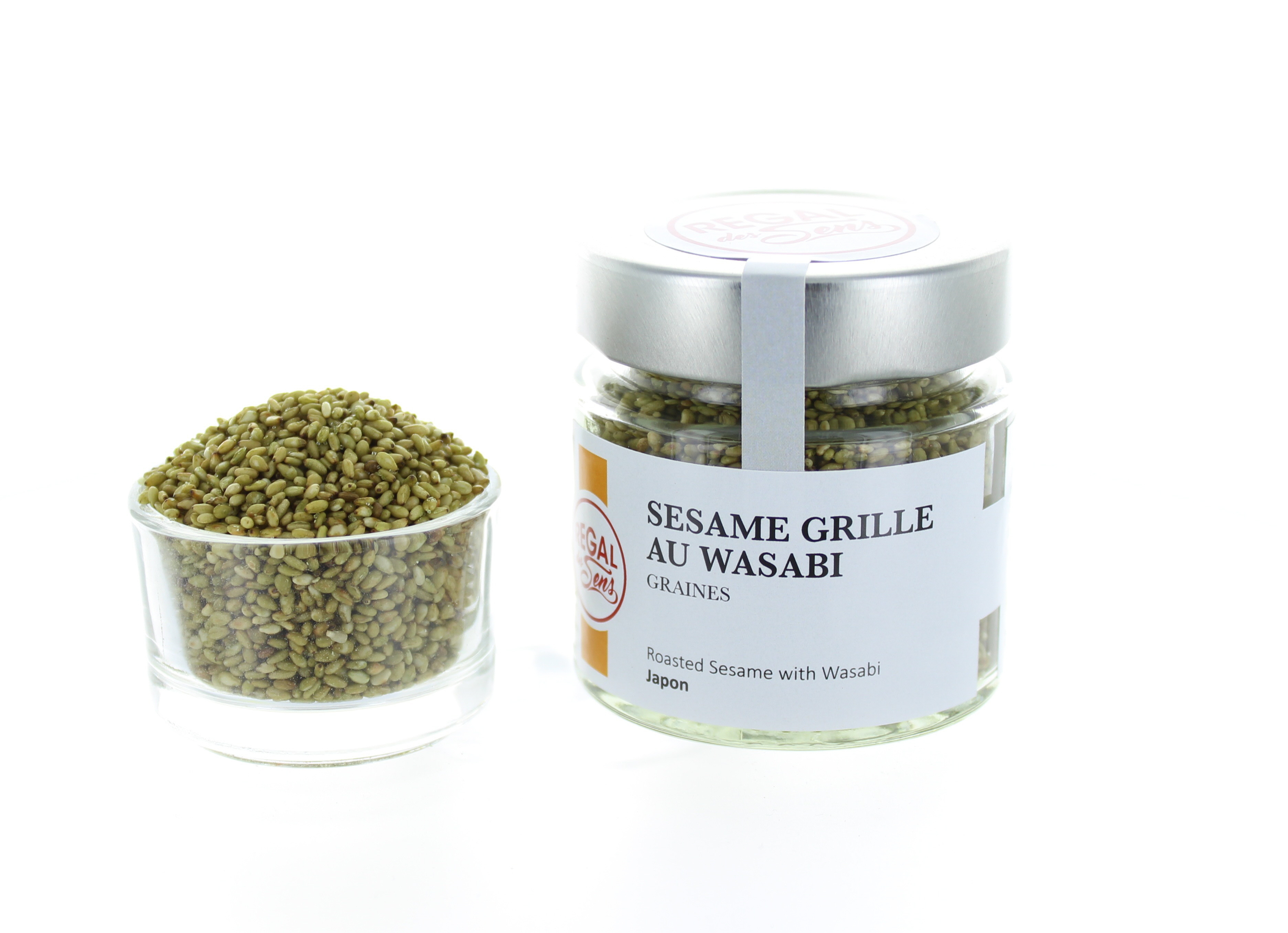 Sésame grillé au wasabi
