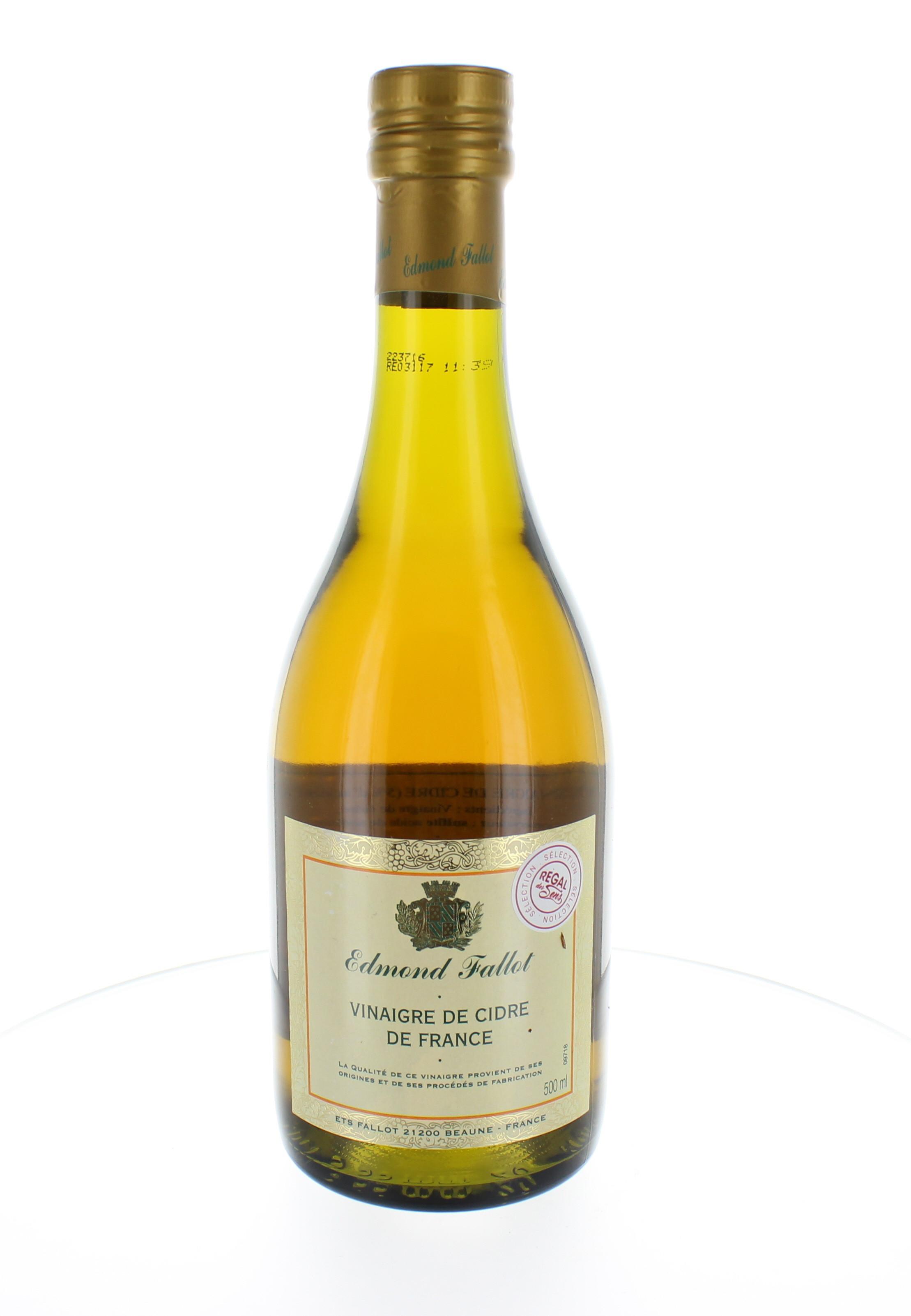 Vinaigre de cidre de France - Regal des Sens
