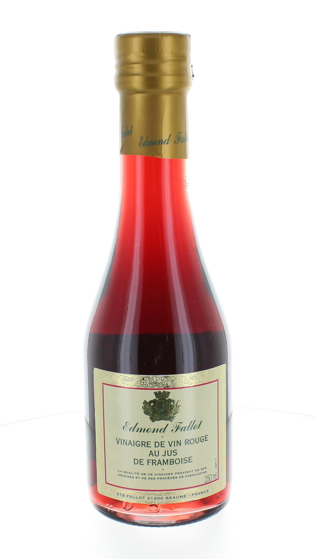 Vinaigre de vin rouge à la framboise - Fallot