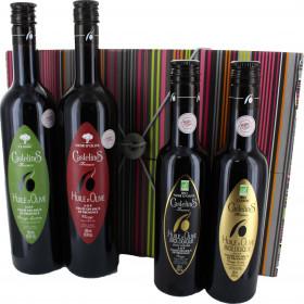 """Coffret cadeau gourmand """"En passant les Baux de Provence"""""""