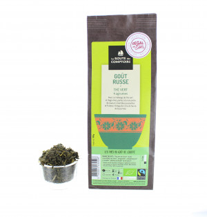 Thé vert goût russe - Bio