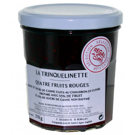 4 fruits rouges - La trinquelinette