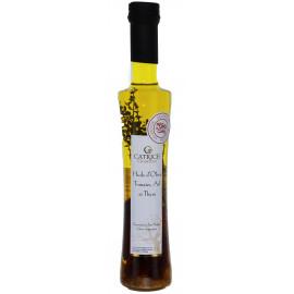 Huile d'olive aux Tomates, Ail et Thym - Regal des Sens