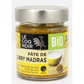 Pâte de curry jaune - Bio