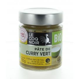 Pâte de curry vert - Bio