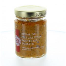 Régal de chèvre et sa pointe de tomate - Regal des Sens