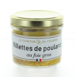 Rillettes de poularde au foie gras - Regal des Sens