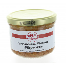 Terrine au piment d'Espelette - Regal des Sens