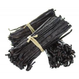 100 gousses de vanille Bourbon - Madagascar - 14/15cm - Liv. gratuite