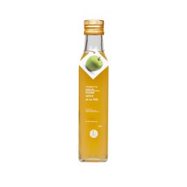 Vinaigre à la pulpe de pomme verte et au miel